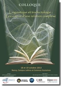 Colloque_LinguistiqueTraductologie_2013_Vignette