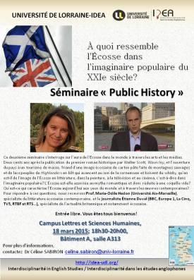 poster scottish seminar