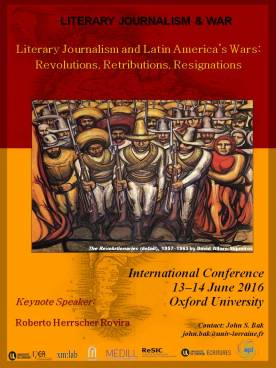 LJ and Latin American Wars poster, Oxford