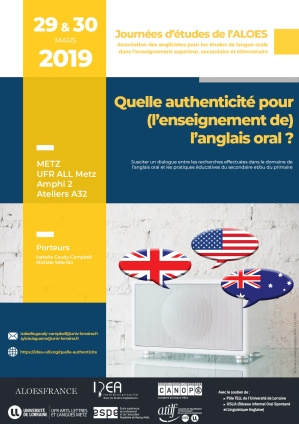 Affiche_JE_AuthenticiteEnseignementAnglaisOral_2019